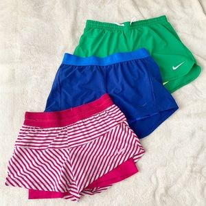 Bundle: 3 Nike shorts with compression